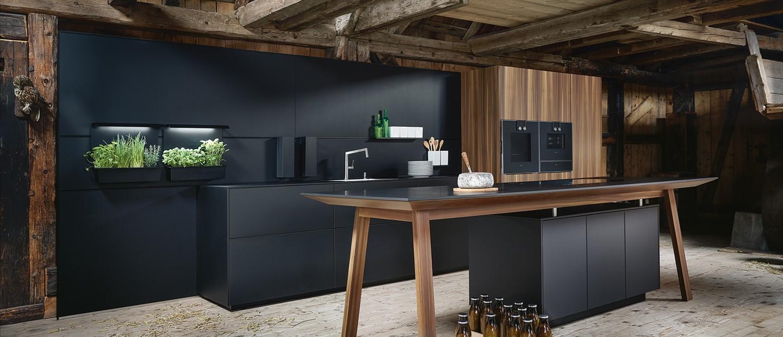 Trendfarben Küche: Die Küche in Schwarz  DeinKüchenplaner