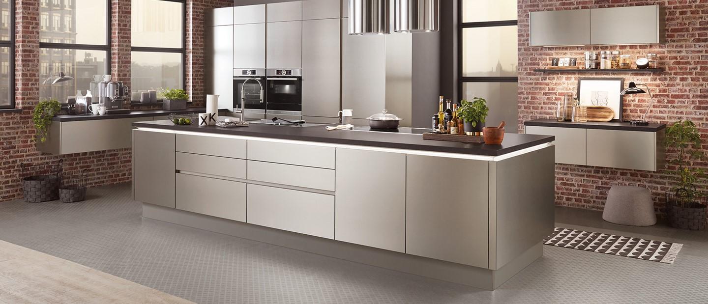 Grifflose Küche - der moderne Küchentrend  DeinKüchenplaner